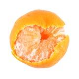 Oranje isoleer Stock Afbeelding