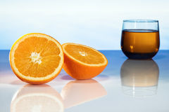 Oranje juice Royalty Free Stock Photo