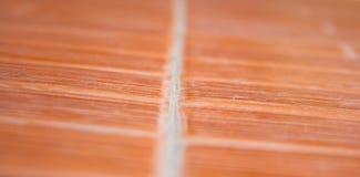 Oranje keramische tegelvloer. Stock Foto's