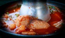 Oranje Kerrie Thaise Recepten Stock Fotografie