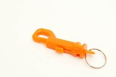 Oranje Klem Royalty-vrije Stock Fotografie