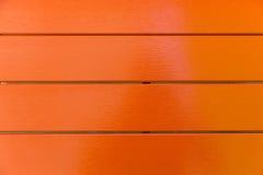 Oranje kleuren houten achtergrond royalty-vrije stock afbeelding