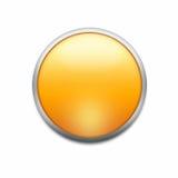Oranje knoop stock foto
