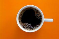 Oranje koffie Royalty-vrije Stock Foto