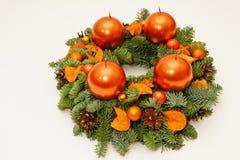 Oranje komstkroon Royalty-vrije Stock Afbeeldingen