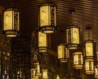 Oranje lamp royalty-vrije stock fotografie