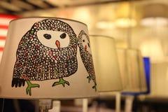 Oranje lampen stock fotografie