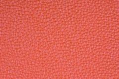 Oranje leer, een achtergrond Stock Foto's