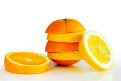 Oranje Lemon Stock Photography