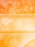 Oranje lichte achtergrond Stock Afbeeldingen