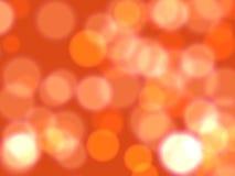 Oranje lichten Royalty-vrije Stock Afbeeldingen