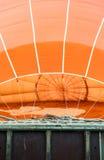 Oranje luchtballon Stock Foto