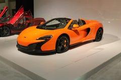 Oranje Maclaren 2015 stock foto's