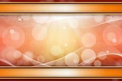 Magische lichte achtergrond met waterdalingen Stock Afbeeldingen