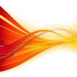 Oranje malplaatje Stock Foto
