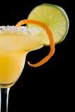 Oranje Margarita - de Meeste populaire cocktailsreeks Royalty-vrije Stock Foto's