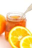 Oranje Marmelade Royalty-vrije Stock Afbeeldingen