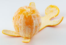 Oranje mens 3 Stock Afbeeldingen