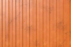 Oranje metaaloppervlakte Royalty-vrije Stock Fotografie