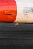 Oranje militaire helikopter stock afbeelding