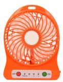 Oranje miniventilator Royalty-vrije Stock Afbeeldingen