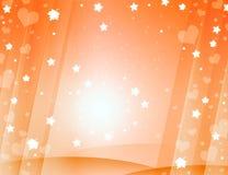 Oranje mooie achtergrond Royalty-vrije Stock Fotografie