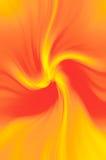 Oranje motie Royalty-vrije Stock Afbeeldingen