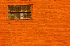 Oranje muur Stock Foto