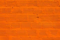 Oranje muur Royalty-vrije Stock Foto