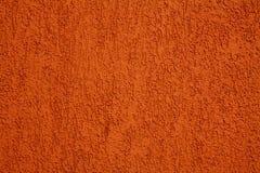Oranje muur Stock Fotografie