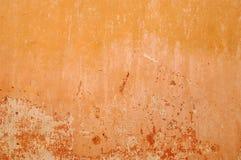 Oranje muur Stock Afbeelding