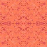 Oranje naadloos behang Royalty-vrije Stock Afbeelding
