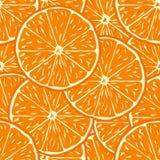 Oranje naadloze achtergrond Royalty-vrije Stock Fotografie