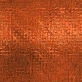 Oranje Naadloze Folie en Tileable-Achtergrondtextuur Stock Afbeelding