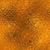 Oranje Naadloze Folie en Tileable-Achtergrondtextuur Royalty-vrije Stock Foto