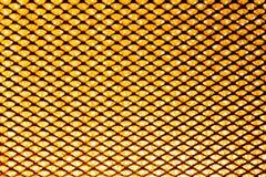 Oranje netachtergrond in magnetron Stock Afbeeldingen
