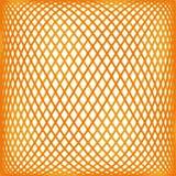 Oranje netwerkpatroon Stock Fotografie