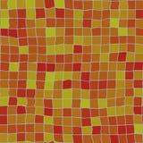Oranje onregelmatige tegels Stock Foto