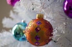 Oranje Ornament Royalty-vrije Stock Afbeelding