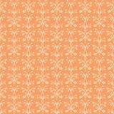 Oranje Ornament Stock Fotografie