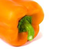 Oranje paprika Stock Afbeeldingen