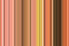 Oranje pastelkleur roze lijnen, abstract achtergrond en patroon Stock Fotografie