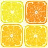 Oranje patroon Royalty-vrije Stock Afbeeldingen
