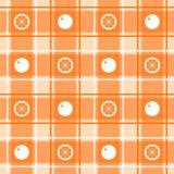 Oranje patroon Royalty-vrije Stock Fotografie