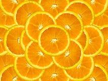 Oranje plak Royalty-vrije Stock Foto's