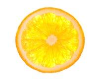 Oranje plak Stock Fotografie