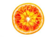 Oranje plak Stock Afbeelding