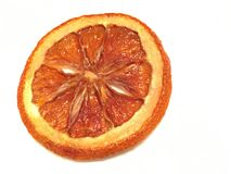 Oranje Plak Flambe Royalty-vrije Stock Fotografie