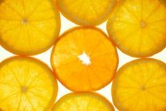 Oranje Plakken Royalty-vrije Stock Foto