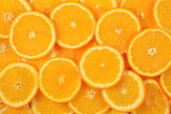 Oranje plakkenachtergrond Royalty-vrije Stock Foto